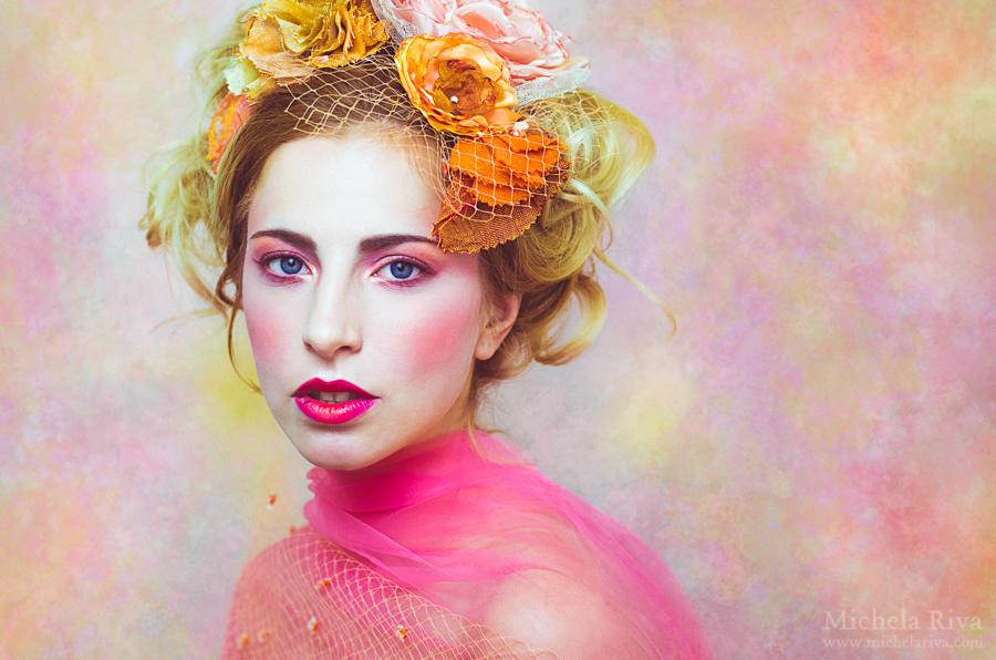 Portrait of a Daydreamer by Michela-Riva