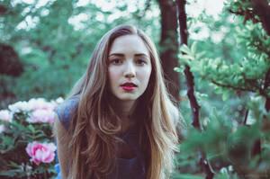 Serena at the Botanical Garden XVII by Michela-Riva