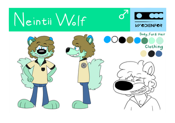 Neintii Wolf - Reference - 2018 by AygoDeviant