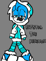 crystal the penguin (bio in the description) by ChunkyTheLunatic