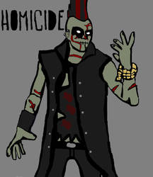 meet homicide (poem in the discription) by ChunkyTheLunatic