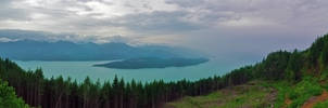 Laketop Rain by jasonwilde