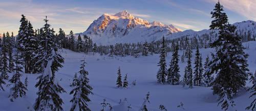 Shuksan Winter Wonderland by jasonwilde