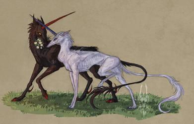 they be unicornz by Valrunie