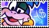Larry Koopa Stamp by WebbiSnekki