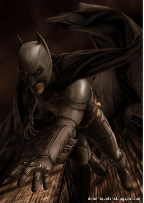 Batman by dominiquefam