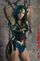 Wonder Woman in Chains by Doozer73