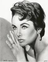 Elizabeth Taylor 6 by carmenharada