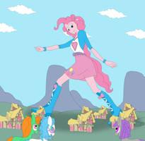 A Pinkie Pie Stroll by Final7Darkness