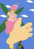To be stomped by her Barefoot by Final7Darkness