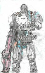titan striker destiny by pedrortis