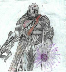 Warlock voidwalker destiny by pedrortis