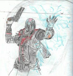 Warlock stormcaller destiny by pedrortis