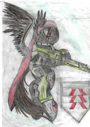 pegaso cazador destiny by pedrortis