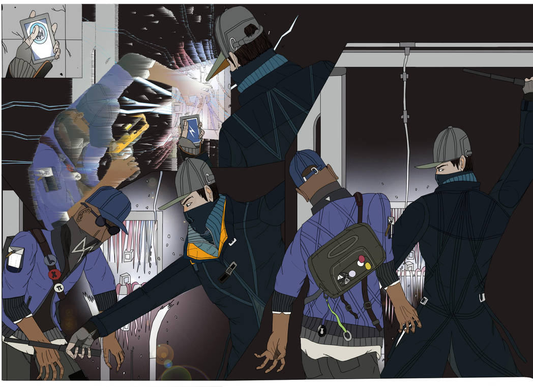 Hacker fight_ part 2 by pedrortis