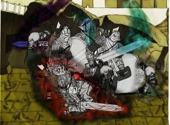 Dark souls II- The Pursuer by pedrortis