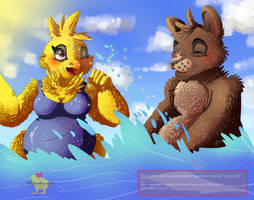 Good Beach's day [ For Freddica's fans! ] by Aunty-chick