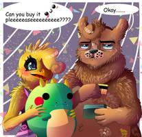 Argh... screw it [ Toy Freddica ] [ AT ] by Aunty-chick