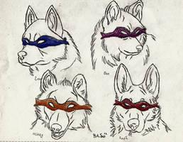 TMNT Wolf Style by XTaeKwonDoDoX