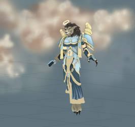 [Unfinished] World of Warcraft Worgen Priest T5 by Beli1993
