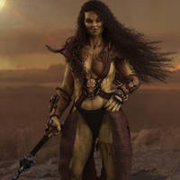 She Orc, Beauty of Brutes by TabooGood