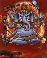 Elephant 6 by jdjartist