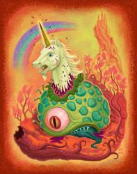 Unicorn of Death by jdjartist