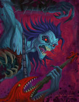 Darkstalkers: Lord Raptor by jdjartist