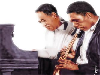 Ellington and Coltrane by PetromyzonMarinus