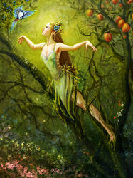 Dryad Learns to Fly by BrookeGillette