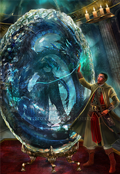 The Dragon Orb, the dragon awakens by BrookeGillette