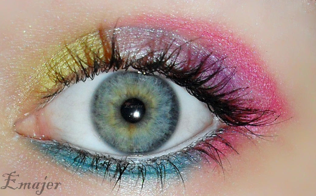 Candy Eye Makeup By Emajer On Deviantart