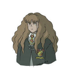 Hermione Granger Harry Potter fan art by Carlos-MP