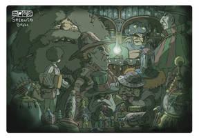 Harry Potter fanart by Carlos-MP