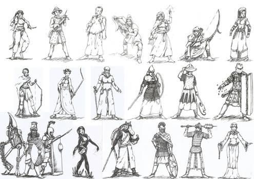 Character dump 7 by Killer-Teckel