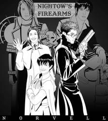 TRIGUN - Nightow's Firearms by DaleNorvell