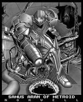 Samus Aran of Metroid by DaleNorvell