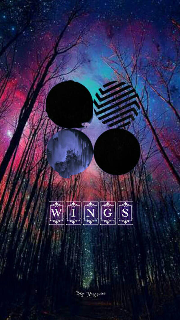 Bts Wings Album Wallpaper By Yoonguita On Deviantart