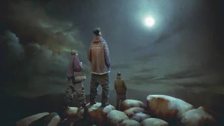 Moon by JablonskiPiotr