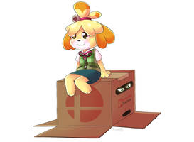 Isabelle and Snake in the Box by krisukoo
