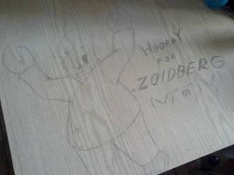 Deskwork no.3 - Zoidberg by Szczery