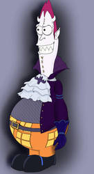 Gekko Moriah - Matt Groening style by Szczery