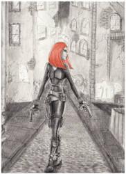 Black Widow by Sausis