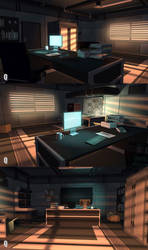 Office room by QUICKMASTER