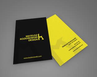 koziorowski.com - visit card ver2 by TenTypMatias