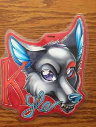 Kyle Badge by kyledawolf