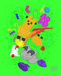 Happy 18th Birthday Diviantart! by kyledawolf