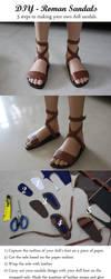 DIY - Roman Sandals by Zetahadrian