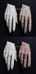 Random Work - Demon Hands by Zetahadrian