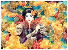 - Chinese chopsticks - by Losenko